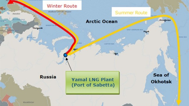 Vladimir Rusanov Completes First Northern Sea Route Transit